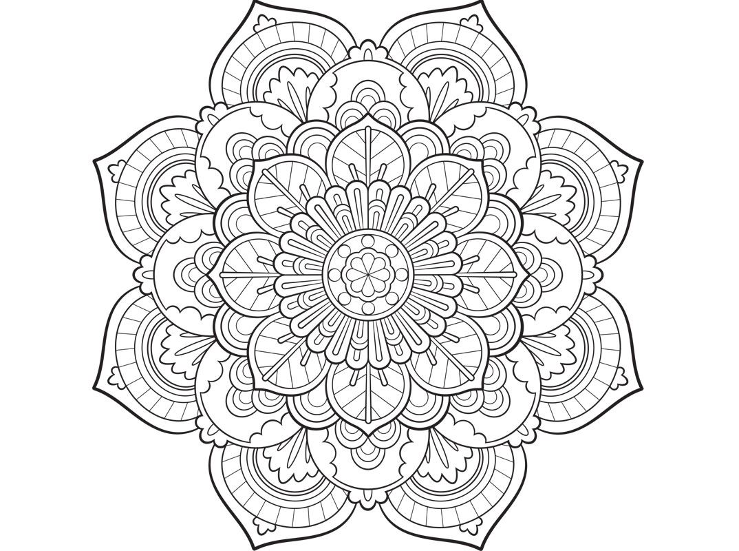 free coloring pages of mandalas - photo#44