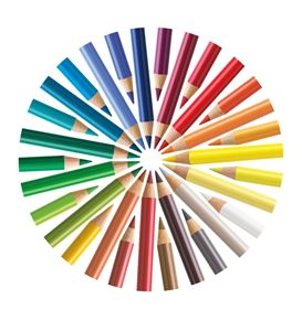 Colored pencil by Faber-Castell