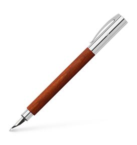 Faber-Castell - Fountain pen Ambition pearwood brown medium