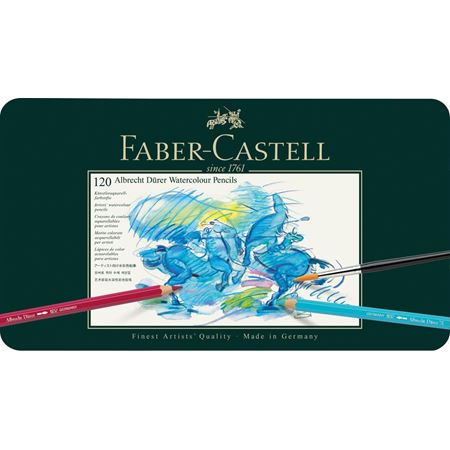 Faber-Castell - Watercolour pencil Albrecht Dürer tin of 120