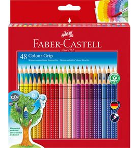 Faber-Castell - Colour pencil Colour Grip cardboard box of 48