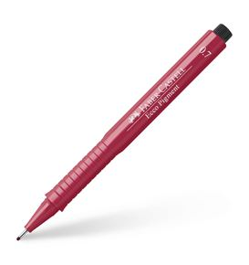 Faber-Castell - Ecco Pigment Fineliner, 0.7 mm, red