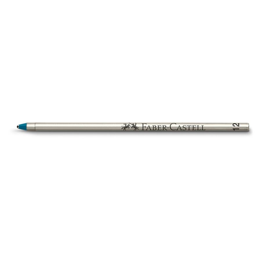 Faber-Castell - Spare refill ballpoint pen for Twice and Trio, D1, blue