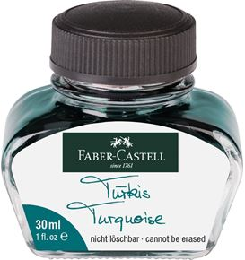 Faber-Castell - Ink glass Turquoise 30 ml
