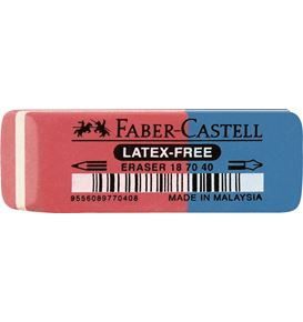 Faber-Castell - 7070-40 latex-free eraser for ink/pencil