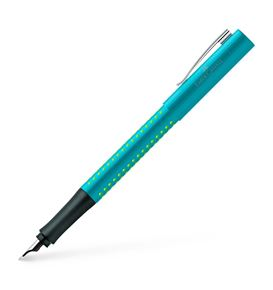 Faber-Castell - Fountain pen Grip 2010 turquoise medium
