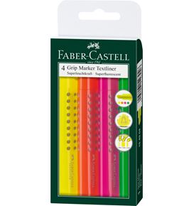Faber-Castell - Highlighter Grip 1543 set of 4