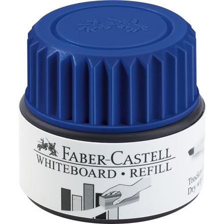 Faber-Castell - Grip Marker Whiteboard refill system, blue