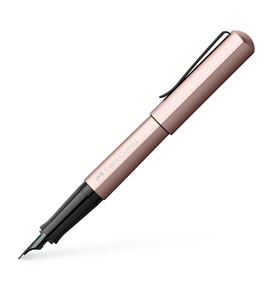 Faber-Castell - Fountain pen Hexo rose medium