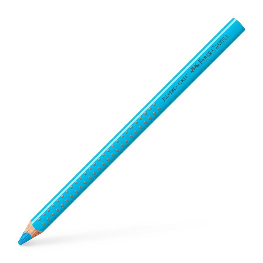Faber-Castell - Jumbo Grip colour pencil, indanthrene blue