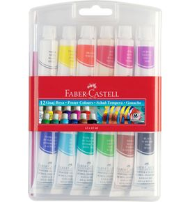 Faber-Castell - Gouache Colour box of 12