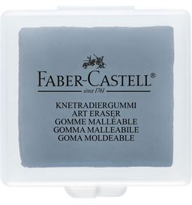 Faber-Castell - Kneadable eraser grey in plastic box