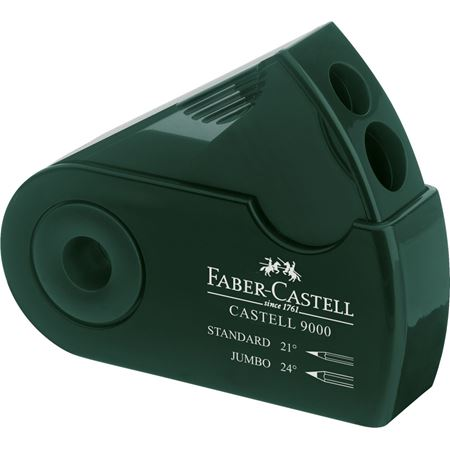 Faber-Castell - Double hole sharpener box Castell 9000