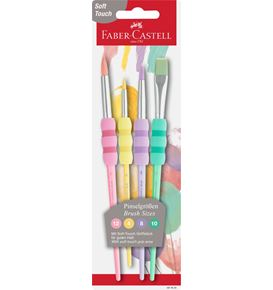 Faber-Castell - Pastel brush with soft touch grip area