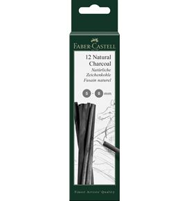 Faber-Castell - Charcoal natural Pitt 5-8mm