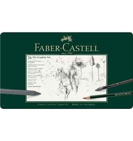 Faber-Castell - Set Pitt Graphite tin big