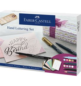 Faber-Castell - Hand Lettering gift set, 12 pieces