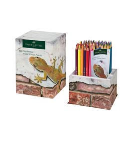 Faber-Castell - Fan edition colour pencils Polychromos cup of 68
