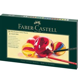 Faber-Castell - Mixed Media gift set Polychromos + Castell 9000