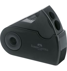 Faber-Castell - Double hole sharpener box Sleeve black