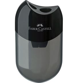 Faber-Castell - Double hole sharpener box, black