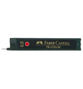 Faber-Castell - TK-Color fineline lead, 0.5 mm, red