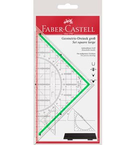 Faber-Castell - Triangle + handle 20 cm
