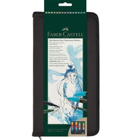 Faber-Castell - Albrecht Dürer Watercolour Marker, zipper-wallet of 30