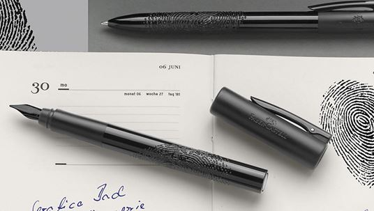 Writink - Fountain pen - rollerball pen - ballpoint pen - tangible finger print